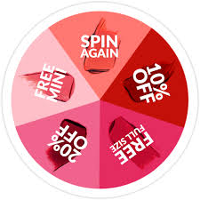 Spin to win promotional example